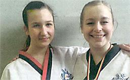 Luisa Michalske und Johanna Winkel